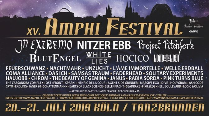 Amphi Festival Warm-up Party Wien
