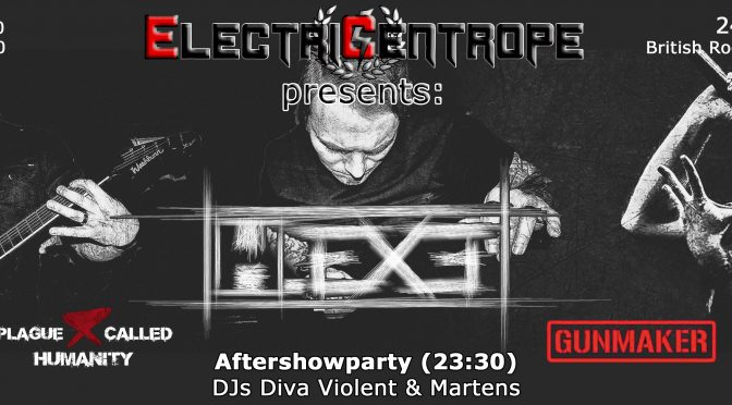 Electric-Centrope Bratislava: H.Exe, Gunmaker & Plague Called Humanity Live!