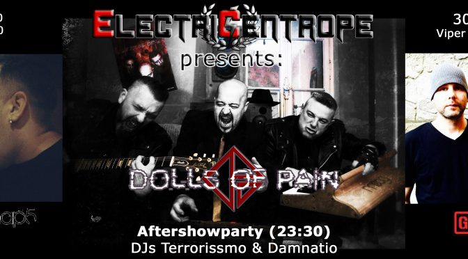 Electric-Centrope: Dolls of Pain, Ginger Snap5 & Gunmaker live!
