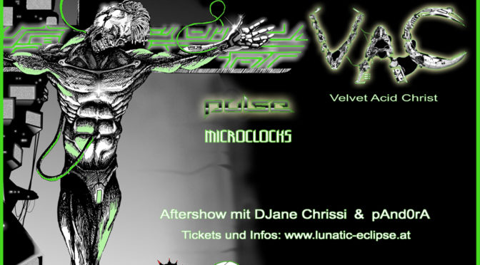 OVERDOSE – Velvet Acid Christ live + Support & Aftershowparty!